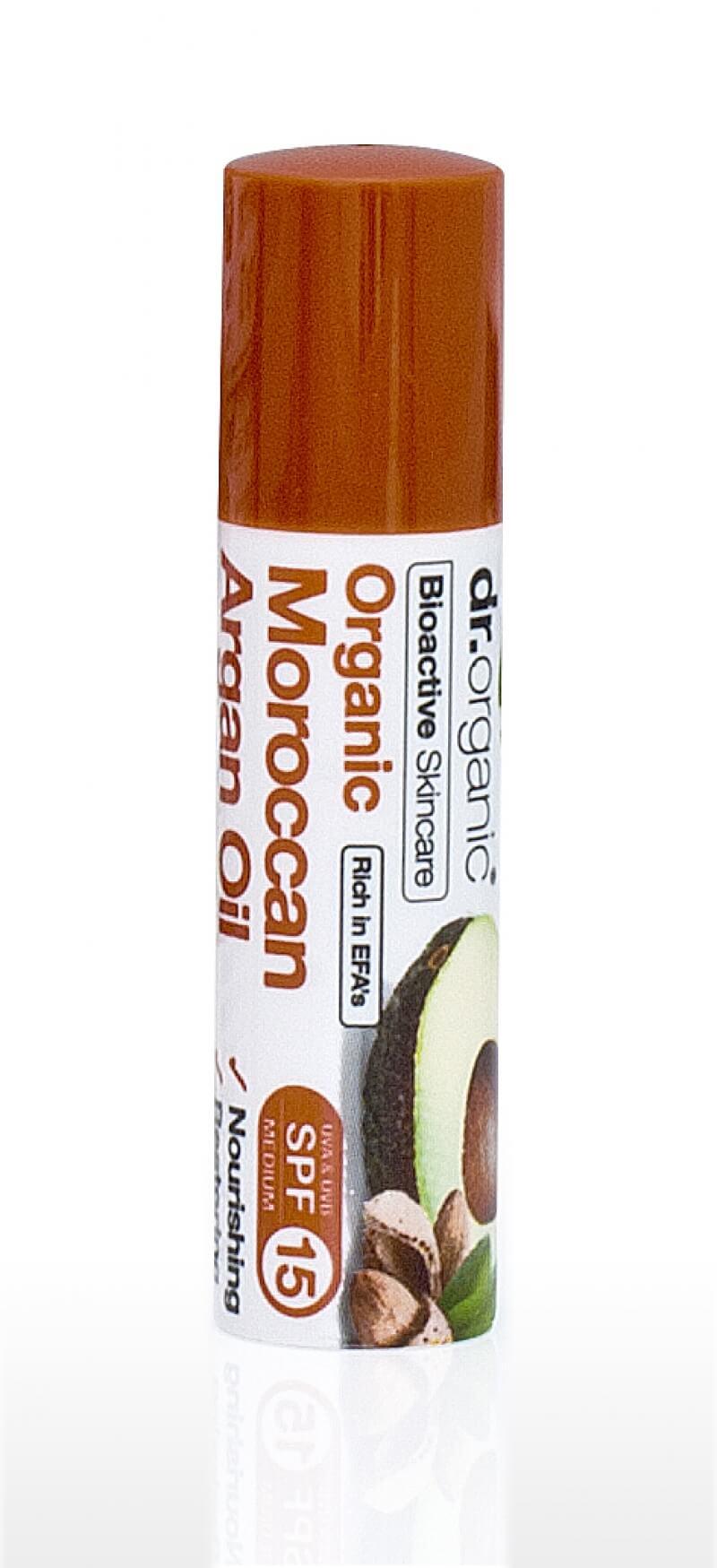 Balsamo Labbra SPF15 Stick Argan Oil Dr.Organic