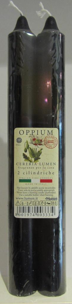 2 Candele Cilindriche fragranza Oppium - Lumen