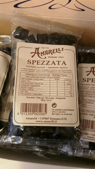 Liquirizia pura Spezzata Amarelli