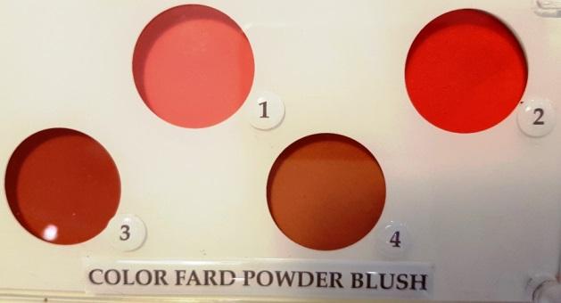 Color Fard Powder Blush n 2 Innoxa