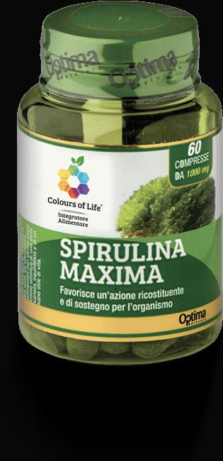 Spirulina Maxima 60 Compresse Optima Naturals
