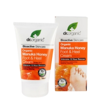 Organic Manuka Honey Foot e Heel Cream Dr.Organic