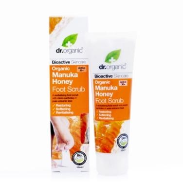 Organic Manuka Honey Foot Scrub Dr.Organic