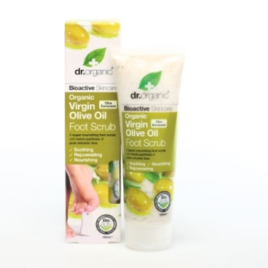 Organic Olive Foot Scrub Dr.Organic