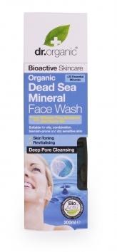 Detergente Viso Dead Sea Mineral Dr.Organic