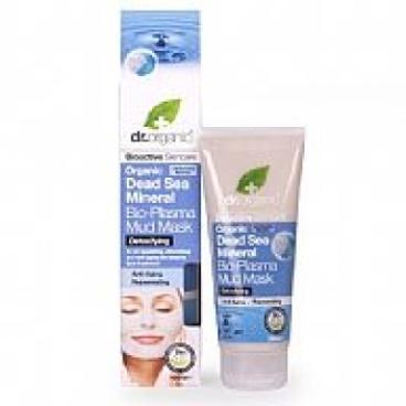 Maschera Viso Anti-età Dead Sea Mineral Dr. Organic