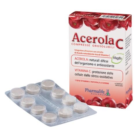 Acerola C Compresse Orosolubili Pharmalife