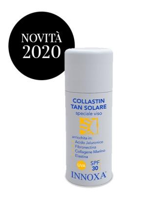 Collastin Tan Crema Solare Viso SPF30 Innoxa