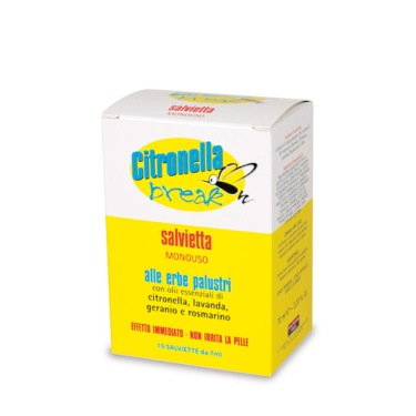 Citronella Break 10 Salviette Vital Factors