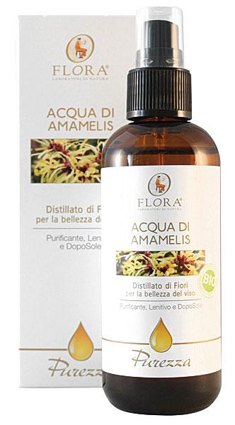 Acqua di Amamelis BIO ICEA 100ml Flora Pisa