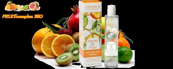 Acqua Corpo Tonificante Agrumi e Frutti Amerigo