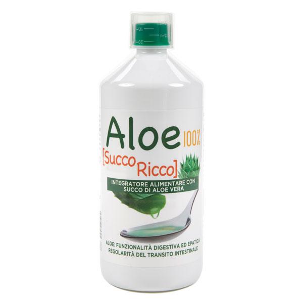 Aloe 100%  Succo Ricco bio concentrato fluido Pharmalife