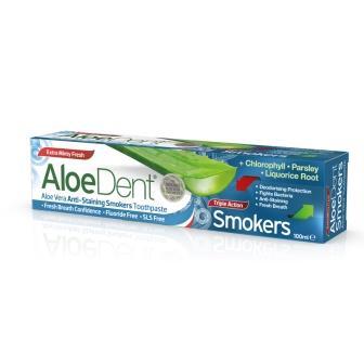 AloeDent Dentifricio Per Fumatori Optima Naturals
