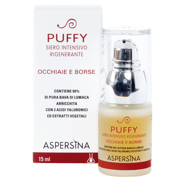 Aspersina Puffy Siero Occhiaie e borse 15ml Pharmalife