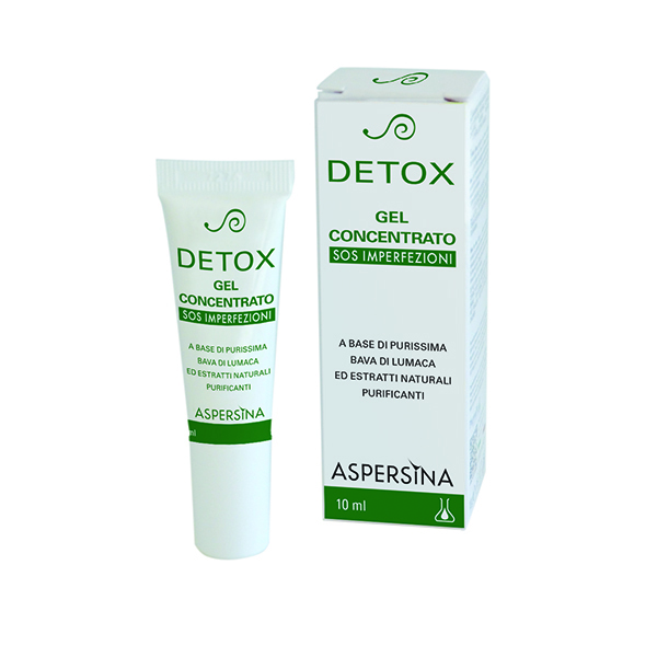 Aspersina Detox Gel Concentrato Viso