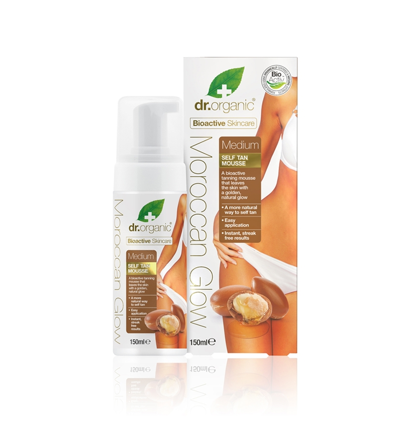 Mousse autoabbronzante Media Moroccan Dr.Organic
