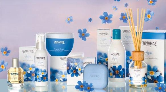 Bagno doccia azure l 39 amande prodotti per il bagno - Prodotti per il bagno ...