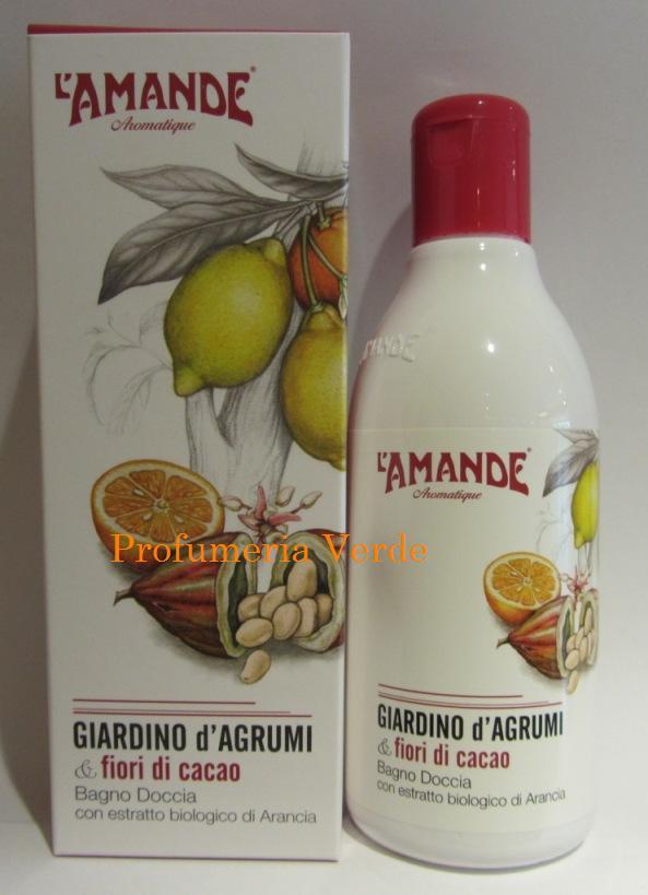 Bagno Doccia Giardino di Agrumi & Fiori di Cacao  L