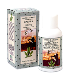 Bagno e Shampoo Canapa e Mirto Speziali Fiorentini Derbe