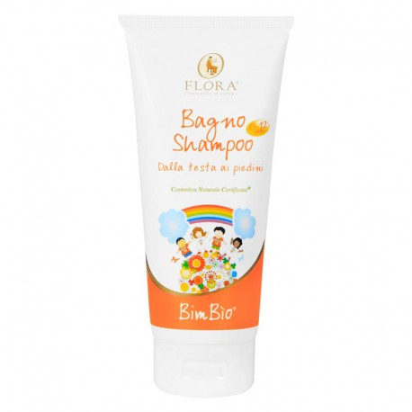 Bagno e Shampoo Bio Linea Bimbi Flora Pisa
