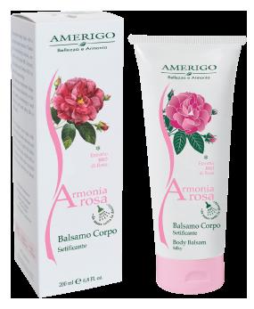 Balsamo corpo setificante armonia rosa amerigo prodotti - Prodotti per il bagno ...
