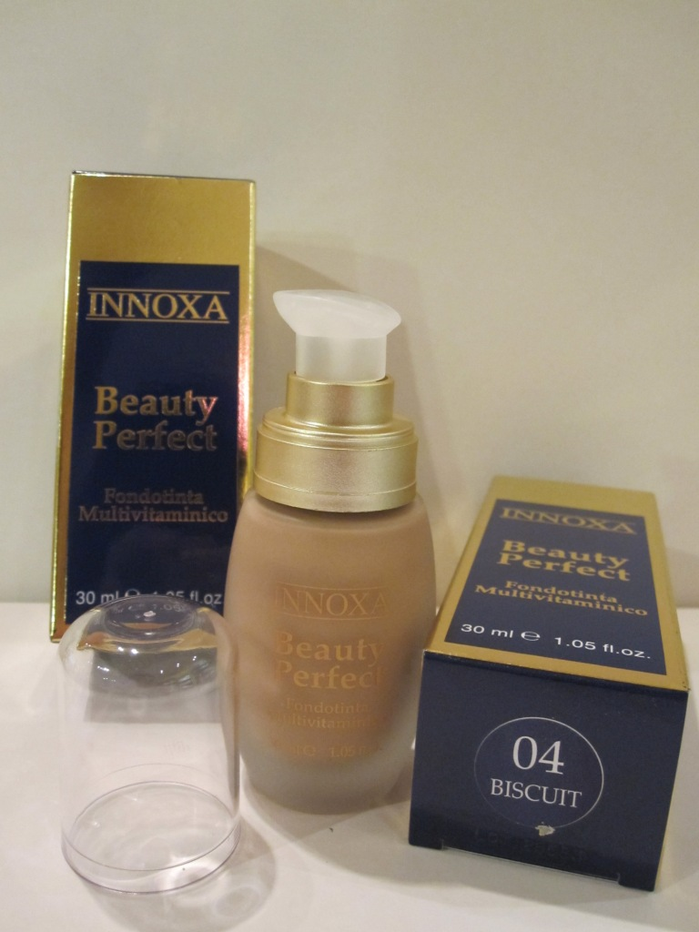 Innoxa Beauty Perfect 04 Biscuit Fondotinta Multivitaminico