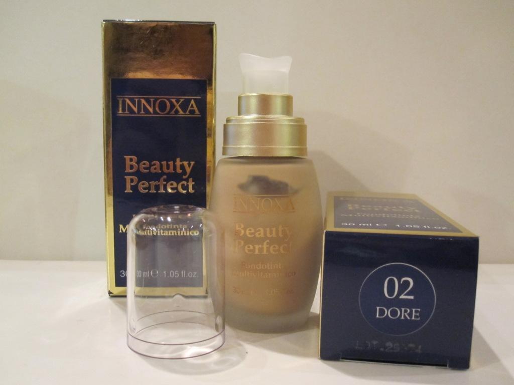 Innoxa Beauty Perfect 02 Dore Fondotinta Multivitaminico