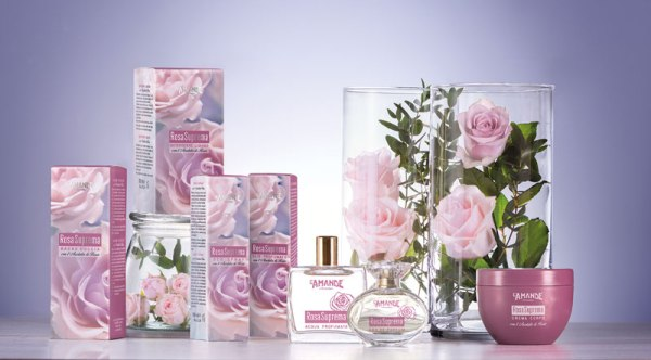 Crema corpo Rosa Suprema L