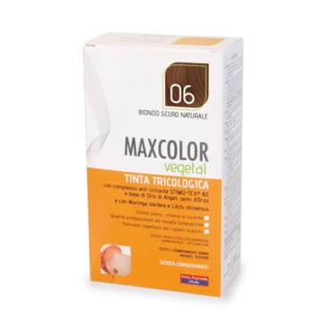 MaxColor Vegetal 06 Biondo Scuro Naturale Farmaderbe