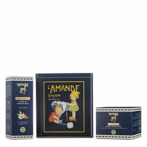 Boite Marseille Blu Crema Corpo e Bagno Schiuma L'Amande