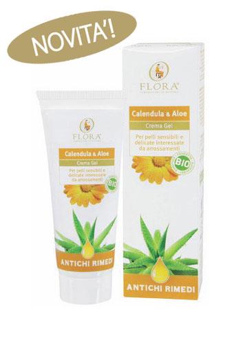 Crema gel Calendula e Aloe Flora Pisa