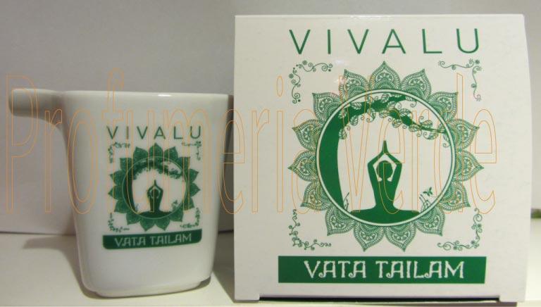 Candela Massaggio Vata Tailam Vivalu 125ml