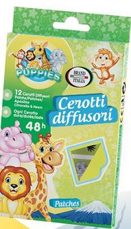 Cerotti Allontana Zanzare Brand Italia