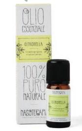 Olio Essenziale Citronella Nasoterapia