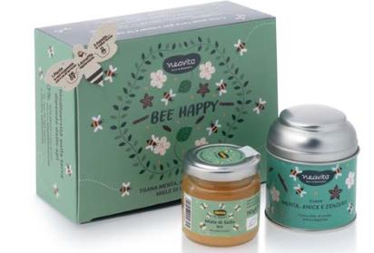 Cofanetto Bee Happy verde Neavita