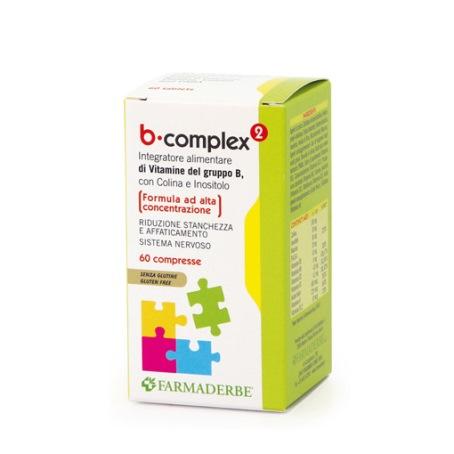 B Complex 60 Compresse Farmaderbe