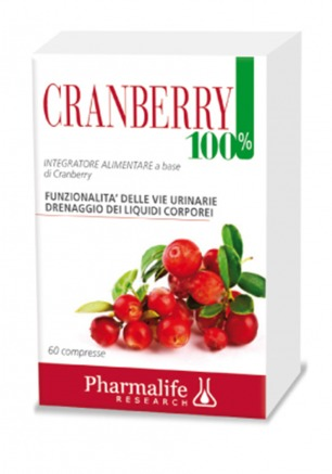 Cranberry 100% 60 compresse Pharmalife