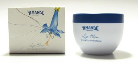 Crema corpo idratante Lys Bleu L'Amande