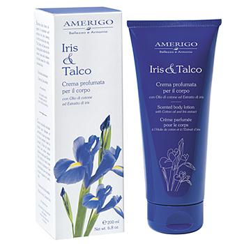 Crema corpo Iris & Talco Amerigo