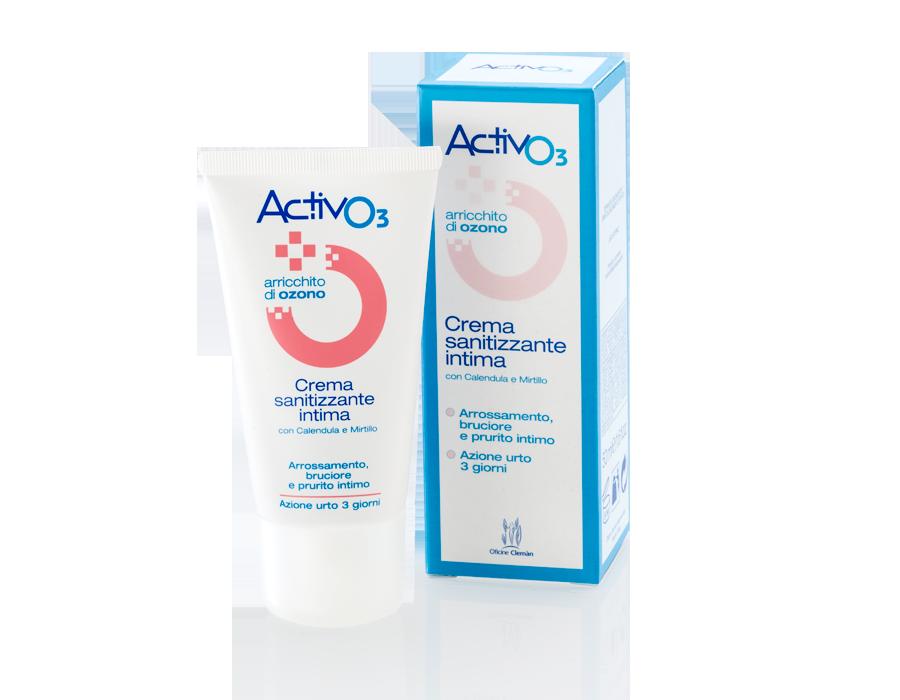 Activo3 Crema Sanitizzante Intima Ozono Oficine Cleman