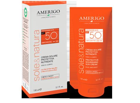 Crema Solare Protettiva spf 50 Amerigo