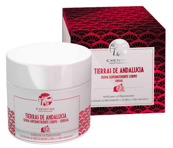 Crema Supernutriente Corpo Exenthia Andalucia Oficine Cleman