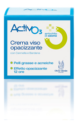 Activo3 Crema Viso 12H Pelli grasse Ozono Oficine Cleman