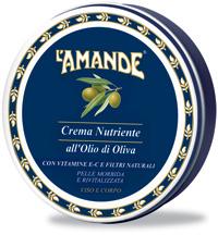 Crema Nutriente  Viso Corpo all'Olio di Oliva L'Amande