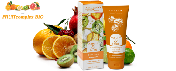 Crema Corpo Rigenerante Agrumi e Frutti Amerigo