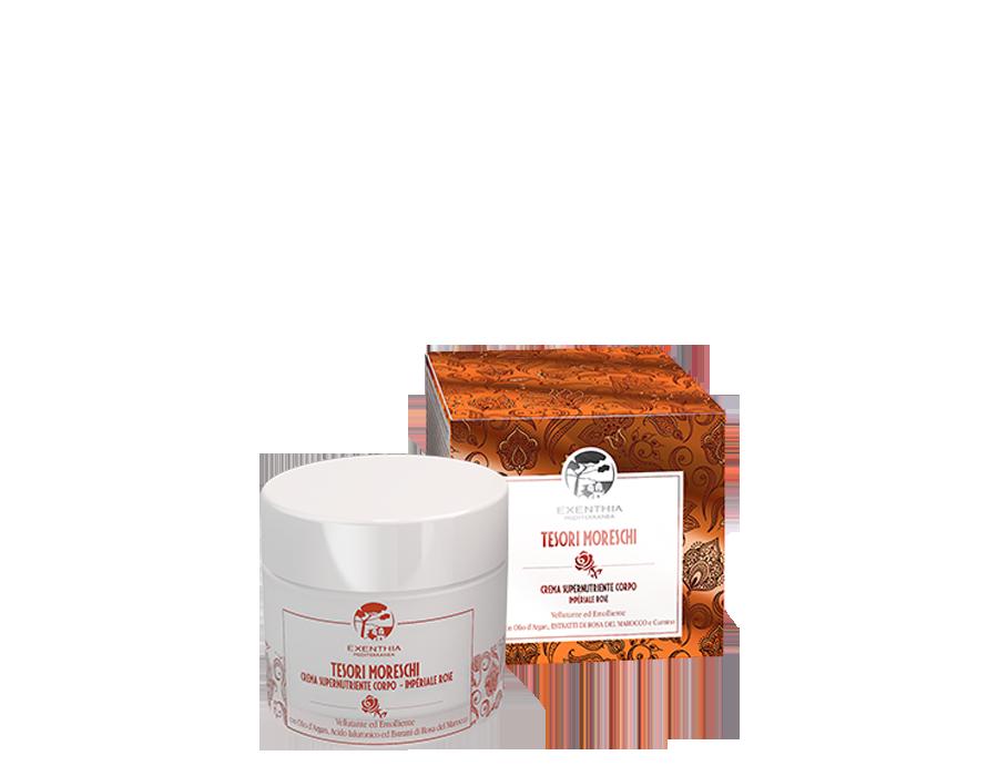 Crema Supernutriente Corpo Tesori Moreschi Oficine Cleman