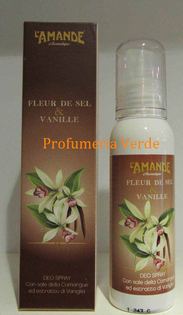 Deodorante spray Fleur de Sel & Vanille L