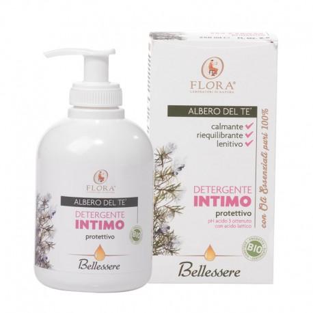 Detergente Intimo Albero Del Te Bio Flora Pisa