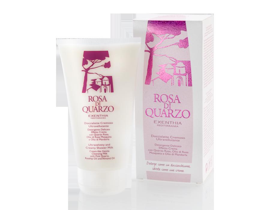 Doccia latte cremoso ultravellutante rosa di quarzo - Prodotti per il bagno ...