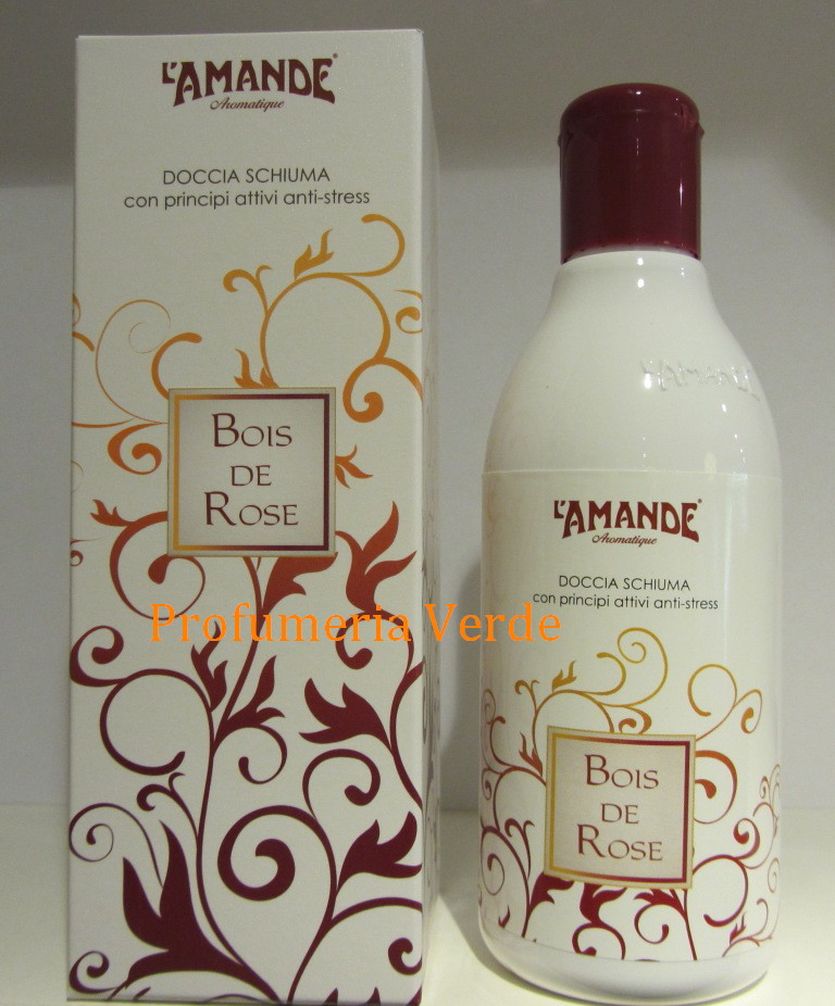 Doccia schiuma bois de rose l 39 amande prodotti per il bagno - Prodotti per il bagno ...